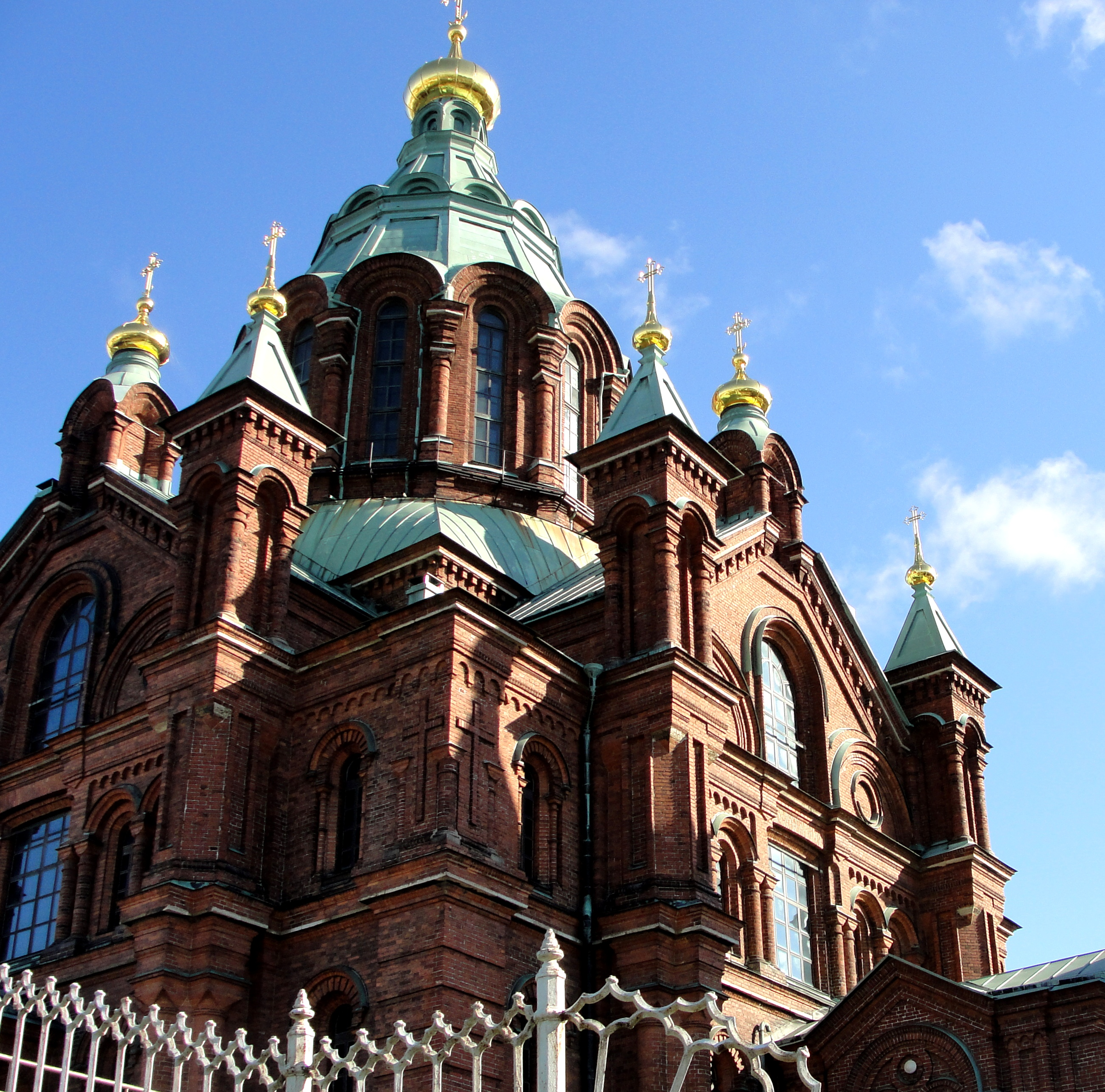 More of Russian Orth Church in Helsinki