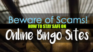Featured image saying Beware of Scams How to Stay Safe on Online Bingo Sites