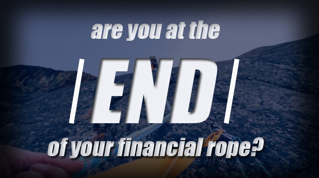 Are you at the end of your financial rope? Use this checklist to find out.